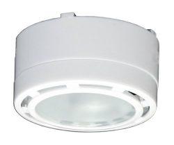 American Lighting ALPX60WH 12-Volt Under Cabinet Puck Lighting Kit, Xenon Bulb, 3 Pack, White