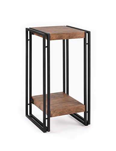 Fivegiven Accent Side Table For Small Spaces End Table For Living Room Bedroom Modern Wood And