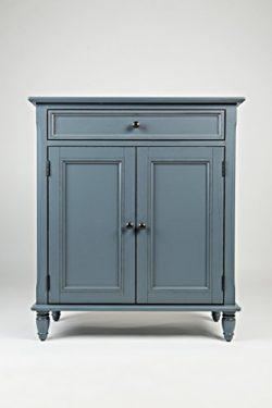 Jofran: 39023A, Avignon, Accent Cabinet, 30″W X 14″D X 34″H, Cornflower Blue F ...