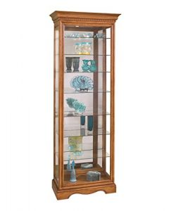 Philip Reinisch Lighthouse Octave Eight-Shelf Curio Cabinet