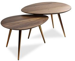 Mid Century Modern Coffee Table Set  by Edloe Finch – Coffee Tables for Living Room – ...