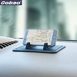 Cobao Car Silicone Anti-Slip Pad Dash Mat & Cell Phone Mount Holder Cradle Dock For Any Smar ...