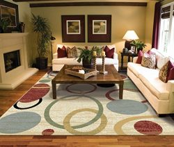 Large Rugs for Living Room 8×11 Cream Clearance Area Rugs 8×10 Under 100