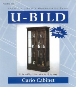 U-Bild 709 Curio Cabinet Project Plan