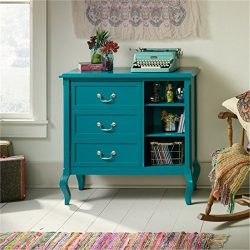 Bowery Hill Accent Chest in Peacock