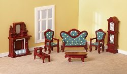 Collectible Mini Living Room Furniture Set – 7 pc