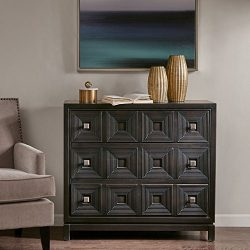 Cecilia Accent Chest with 3 Drawers Brown See below