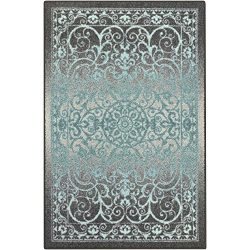 Area Rugs, Maples Rugs [Made in USA][Pelham] 7′ x 10′ Non Slip Padded Large Rug for  ...