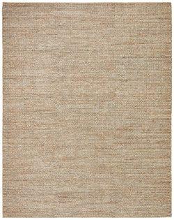 Stone & Beam Transitional Braided Jute Rug, 8′ x 10′, Sand