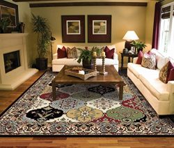 Large Rugs for Living Room 8×10 Traditional Clearance Area Rugs Under 100 Prime Rugs