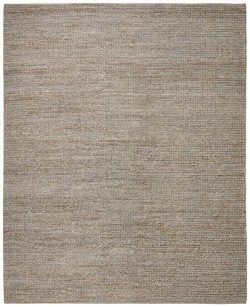 Stone & Beam Transitional Braided Jute Rug, 8′ x 10′, Smoke