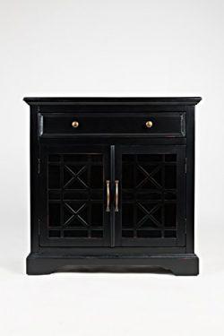 Jofran: 275-32, Craftsman, Accent Chest, 32″W X 15″D X 32″H, Antique Black Fin ...