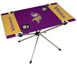NFL Portable Folding Endzone Table, 31.5 in x 20.7 in x 19 in