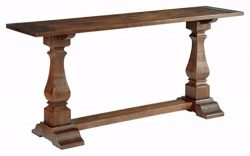 Ashley Furniture Signature Design – Vennilux Console Table – Wire Brushed Stain with ...