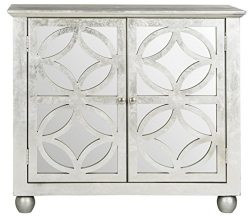 Safavieh American Homes Collection Havana Silver Leaf Chest