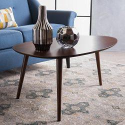 Caspar Walnut Wood Coffee Table