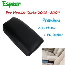 Center Console Storage Box Armrest Cover lid for Honda Civic 2006-2009