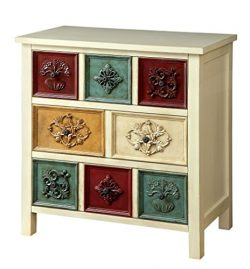 HOMES: Inside + Out ioHOMES Lockley 8-Drawer Hallway Chest, Multicolor