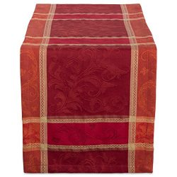 DII 14×72″ Cotton Table Runner, Harvest Wheat – Perfect for Fall, Thanksgiving, ...