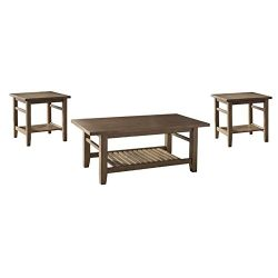 Ashley Furniture Signature Design – Zantori Occasional Table Set – Includes Cocktail ...