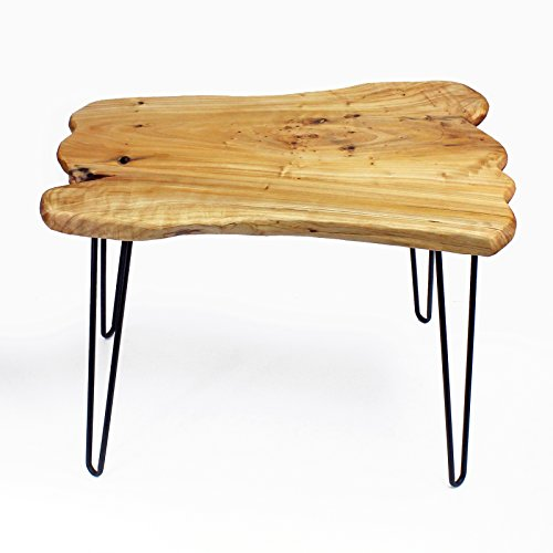 Welland Cedar Live Edge Hairpin Coffee Table 28 Quot L X 20 Quot W