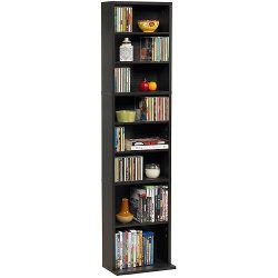 Summit Media Storage Cabinet, Espresso
