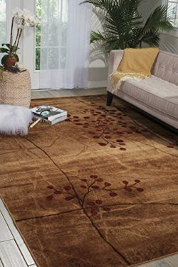 Nourison Somerset (ST74) Latte Rectangle Area Rug, 3-Feet 6-Inches by 5-Feet 6-Inches (3'6 ...