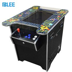 BLEE 2 Sides to 2 Players Arcade Cocktail Table Game Machine for 60 in 1 Classical Games (19 Inc ...