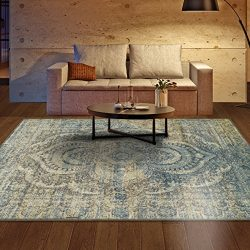 Superior Area Rug 9′ x 12′ 10mm Pile Height with Jute Backing, Woven Fashionable and ...