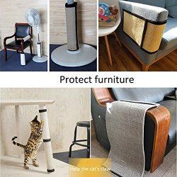 Table Chair Sofa Legs Protector, Pet Cat Kitten Scratch Pad Mat, Cat Scratcher Board Automatic B ...