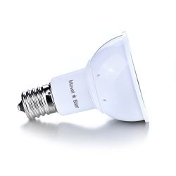 Mavel Star E17 Led Bulb Base 2800k 4 Watt Reflector R14 Led Light Bulb for Table Desk Lamp,Lava  ...