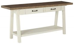 Signature Design by Ashley T640-4 Stownbranner Sofa Table, Two-tone