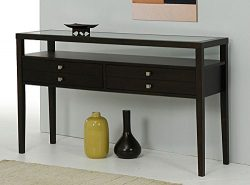Metro Shop Aristo Halifax Brown Console Table