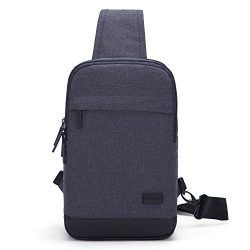 Tinyat T602 Simplicity Sling Bag Chest Pack Casual Crossbody Travel Shoulder Bag for Women/Men T ...