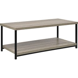 Ameriwood Home 5049096PCOM Elmwood Coffee Table, Weathered Oak