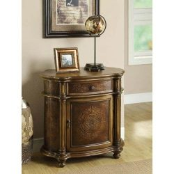Hawthorne Ave Accent Chest – Light Brown Traditional Style