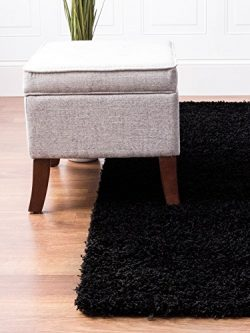 Soft & Plush Solid Large Shag Rug for Bedroom | Living Room | Dining Room 7′ 10″ ...