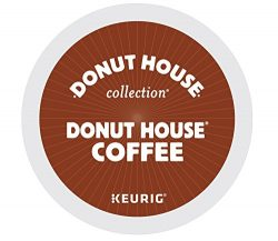 Donut House Collection Donut House Coffee Keurig Single-Serve K-Cup Pods, Light Roast, 72 Count  ...