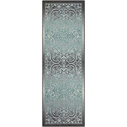 Maples Rugs Runner Rug, [Made in USA][Pelham] 2′ x 6′ Non Slip Hallway Entry Area Ru ...