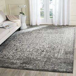 Safavieh Evoke Collection EVK256D Vintage Oriental Grey and Ivory Area Rug (8′ x 10′)