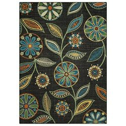 Maples Rugs Area Rugs, [Made in USA][Reggie Artwork Collection] 5′ x 7′ Non Slip Pad ...
