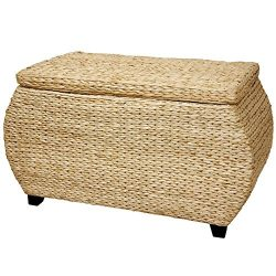 Oriental Furniture Rush Grass Storage Box – Natural