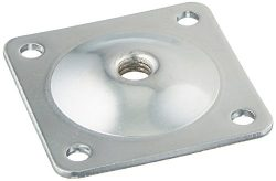 Pandora Hardware Furniture Leg Attachment Plates 5/16 -in, Heavy Duty Top Plate for Sofa, Table, ...