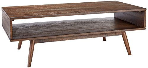 Ashley Furniture Signature Design – Kisper Contemporary Rectangular Cocktail Table with St ...
