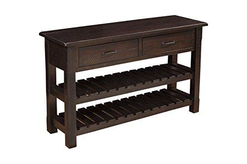 Martin Svensson Home 890248 Sofa-Console Table, Espresso