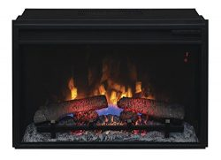ClassicFlame 26II310GRA 26″ Infrared Quartz Fireplace Insert with Safer Plug