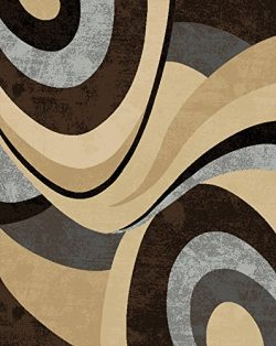 Home Dynamix Tribeca Slade Area Rug | Contemporary Living Room Rug | Bold Abstract Design | Warm ...