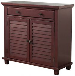 Abbey Avenue A-MEL-600ACH Melrose Accent Chest, Antique Red