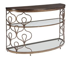 Ashley Furniture Signature Design – Fraloni Traditional Sofa or Entryway Table – Bro ...