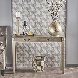 Christopher Knight Home 302072 Celia Acacia Wood Console Table, Metallic Grey